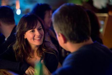 Rosemarie DeWitt as a teacher who hangs out at the local bar.